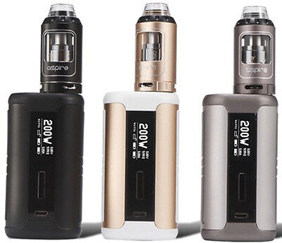 Aspire Speeder Kit With Athos Tank 200W  Same Day Shipping From Ohio