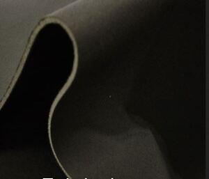 BLACK SCRIM FOAM SEAT UPHOL