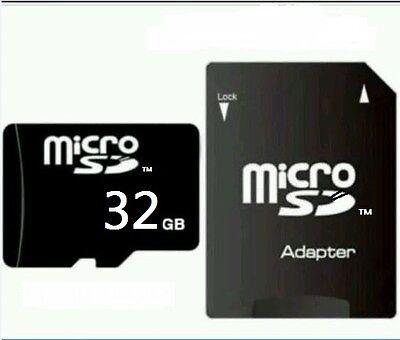 32 GB MICRO SD-SPEICHERKARTE CLASS 10! NEU! Volle 32GB mit H2testw Test. Top!