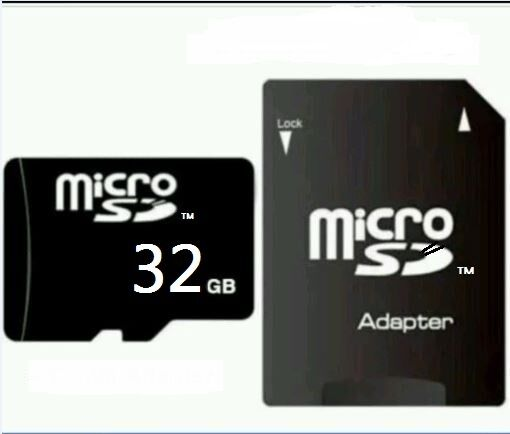 32 GB MICRO SD-SPEICHERKARTE + Adapter. CLASS 10! NEU! Volle 32GB!