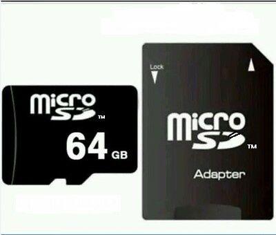 64 GB MICRO SD-SPEICHERKARTE CLASS 10! NEU! Volle 64GB mit H2testw Test. Top!