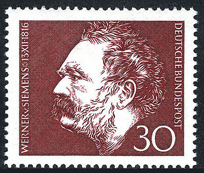 Germany 968, MNH. Werner von Siemens, Electrical Engineer and Inventor, 1966
