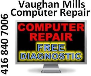 VAUGHAN MILLS STORE - LAPTOP REPAIR - WE FIX ANY ISSUE ANY MODEL