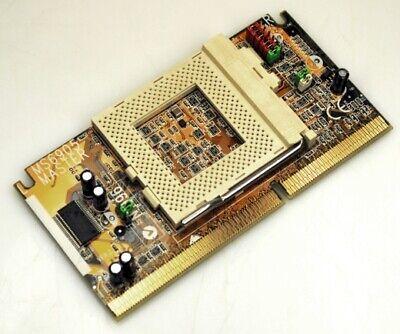 MSI MS-6905 MS 6905 Master V2 CPU Converter Adapter Intel Slot 1 Sockel 370 NEU