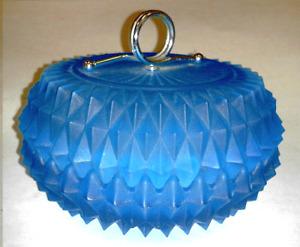 Vintage/Antique Blue Glass Bowl