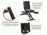 TOTAL FLEX foldable multi-gym chair- AMAZING