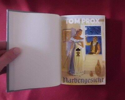 Tom Prox Leihbuch Bd. 42 Narbengesicht (grauer Leineneinband)