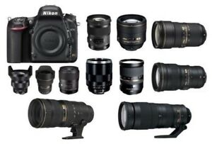 LOTS of used NIKON digital SLR gear for SALE or TRADE,WILL SHIP
