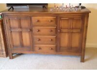 PERFECT CONDITION Ercol Dresser / Table and Welsh Dresser COMBO