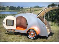 Teardrop camper, teardrop trailer, camping trailer, teardrop caravan
