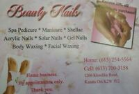 Gel Nails and Acrylic  Nails and Body Waxing