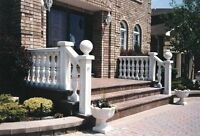 Concrete Railing Contact us today for a free Quote: 905-761-0027