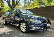 2014 Volkswagen Passat Type 3C MY15 118TSI DSG Blue 7 Speed Sports Automatic Dual Clutch Sedan Medindie Walkerville Area Preview