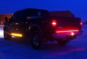 LED TailGate Strip & Amber Side Marker Strip