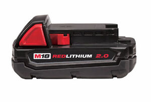 Milwaukee M18 48-11-1820 Red Lithium Battery 2.0 amp