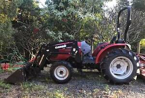 TRACTOR CASE HI MAXXFARM 40 WITH MAXXLIFT 50 LOADER Clear Mountain Pine Rivers Area Preview