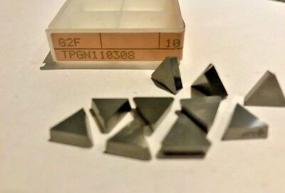 Tungaloy Carbide Inserts - G2f Tpgn110308 81071 Tpgn222 - Qty.10 - New