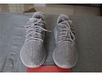 Yeezy Boost 350 - UK Size 9 - Light Grey - Brand New