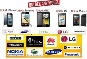 Rogers, Fido, Telus, Bell,Virgin,Koodo unlocking Start From $15