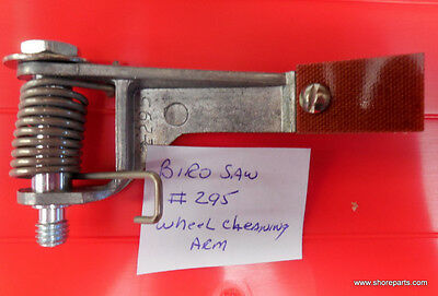 Wheel Cleaning Arm On Hinge Plate For All Biro Saw Models Replaces 295