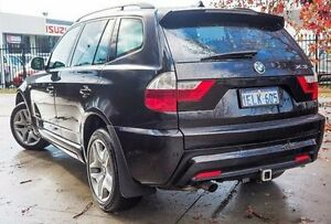 2009 BMW X3 E83 MY0909 xDrive20d Steptronic Lifestyle Black 6 Speed Automatic Wagon Glendalough Stirling Area Preview
