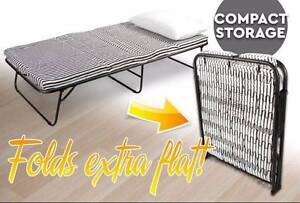 NEARLY NEW Folding Bed with Mattress Rose Park Burnside Area Preview
