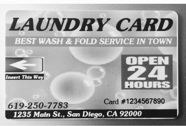 5000 Dexter Easy Card For Mammoth Laundromat.