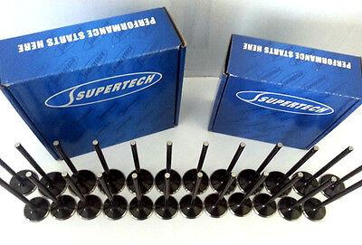 Supertech STD Valves BMW M50 M52 S50 M52 M54 24V 2.8L 3.0L Turbo Nitride Coated