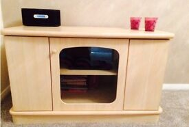 Tv unit / sideboard and matching nest of tables