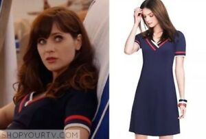 NWT TH to TOMMY from ZOOEY Navy dress Sz 4, limited collection!