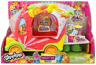 Shopkins HPK50000 Shoppies Smoothie Juice Truck Playset Childrens Toy Brand New