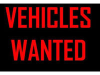 Cars wanted cash paid !!