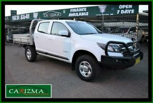 2017 Holden Colorado RG MY17 LS (4x2) White 6 Speed Automatic Crew Cab Chassis Seven Hills Blacktown Area Preview