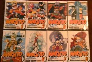 20 Naruto Books & Shonen Jump Volume 7, Anime Profile