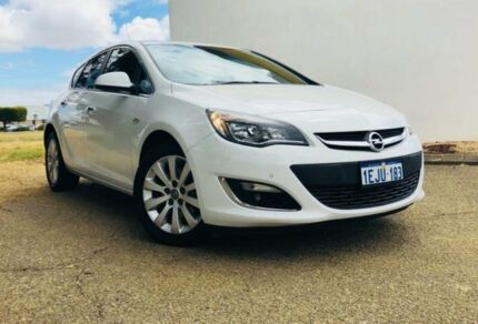 2013 Opel Astra PJ CDTI Select White 6 Speed Automatic Hatchback Maddington Gosnells Area Preview