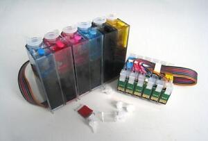 Bulk Ink, Refillable Ink Cartridge, CISS, Sublimation Ink, Print