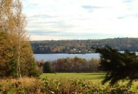 Overlooking Mactaquac Headpond & Kings Landing: waterview/access