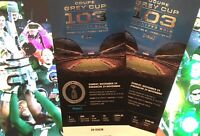 Half Price / 2 for 1 Grey Cup Tickets, 35 yard line