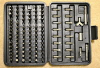 Screwdriver Security Bit Set Trox Star BRAND NEW