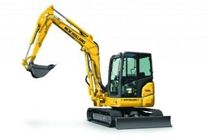 2016 New Holland Compact Excavators