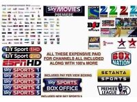 12 months gift subscription for all satellite tv boxes ( zgemma, amiko, blade, and all open boxs