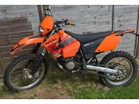 2004 KTM 200 EXC Road legal MOT til Feb