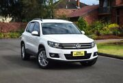 2013 Volkswagen Tiguan 5N MY14 132TSI DSG 4MOTION Pacific White 7 Speed Sports Automatic Dual Clutch Medindie Walkerville Area Preview