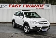 2010 Holden Captiva CG MY10 SX AWD White 5 Speed Sports Automatic Wagon Gosnells Gosnells Area Preview