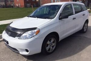 2008 Toyota Matrix Auto, Clean inside out, Alloys, Certified