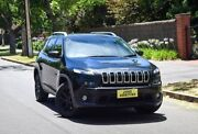 2016 Jeep Cherokee KL MY16 Longitude Black 9 Speed Sports Automatic Wagon Medindie Walkerville Area Preview