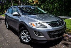 2011 Mazda CX-9 TB10A4 MY11 Classic Silver 6 Speed Sports Automatic Wagon Medindie Walkerville Area Preview