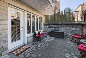 Bright Open Concept Townhouse In Liberty Village w/Large Terrace