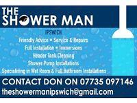 The Shower Man in Ipswich