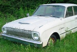 WANTED 1962 FORD FALCON 4 DOOR